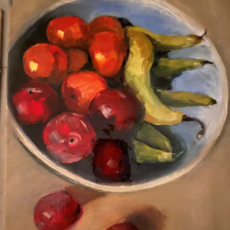 Fruity - Oil on Canvas (40 x 30cm          £180