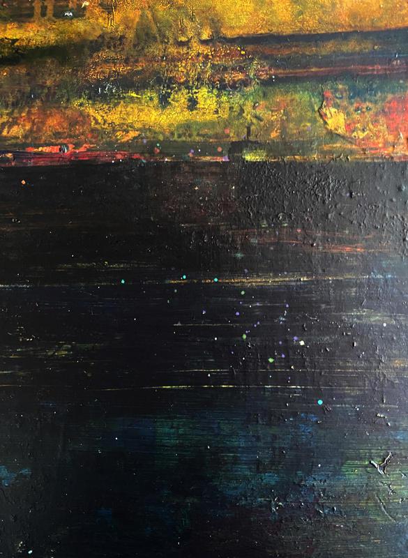 Archipelago. Oil on panel. A4