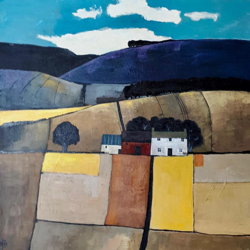 Under the Black Hill  Image 400x400 Framed 550x550 Price £275