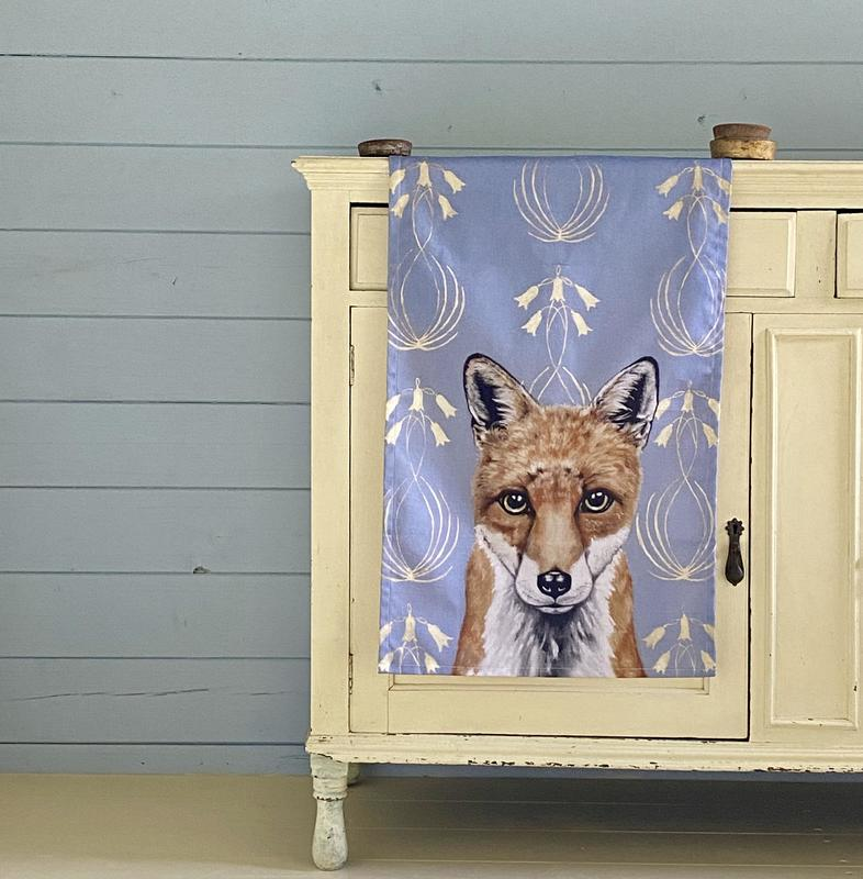Art Nouveau inspired Tea Towels, available in Hare and Badger too, 100% cotton, made in UK