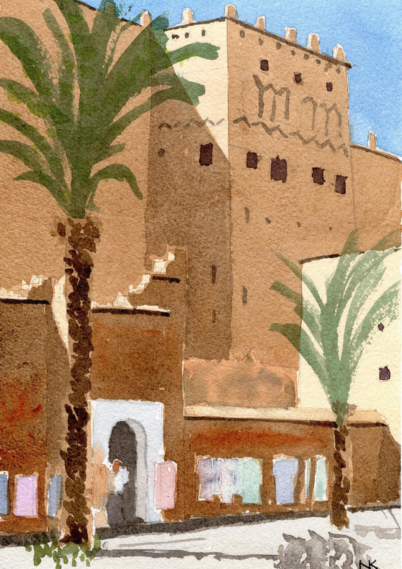 The Kasbah in Taouret