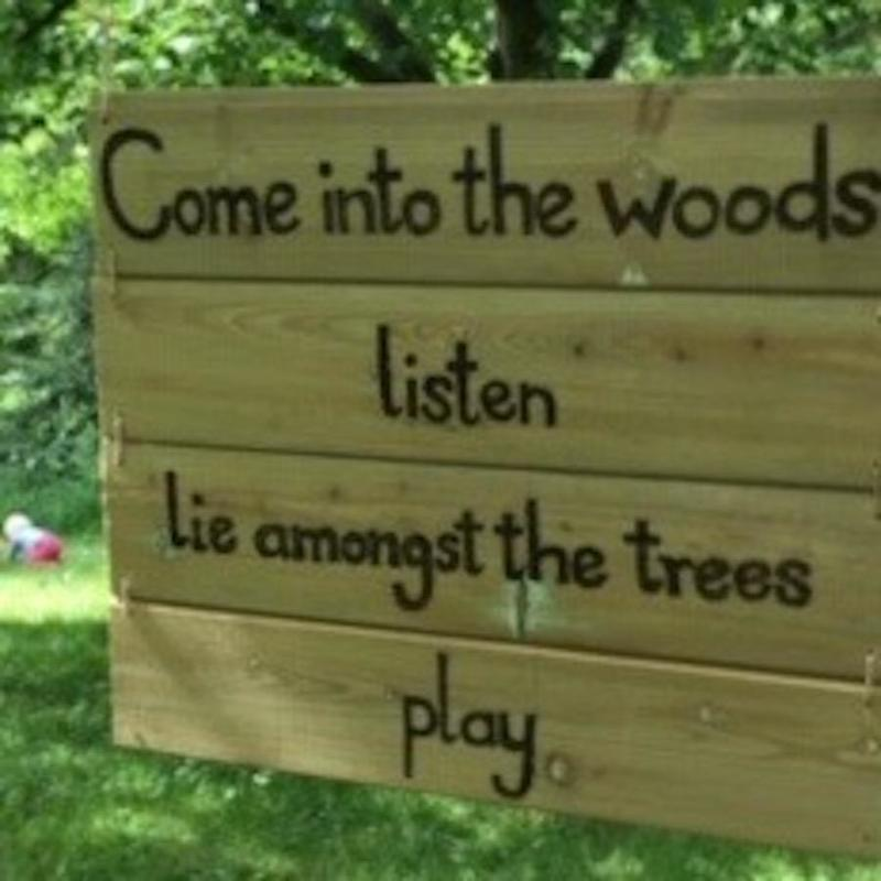 Come into the Woods, Priory Gardens Charlbury,