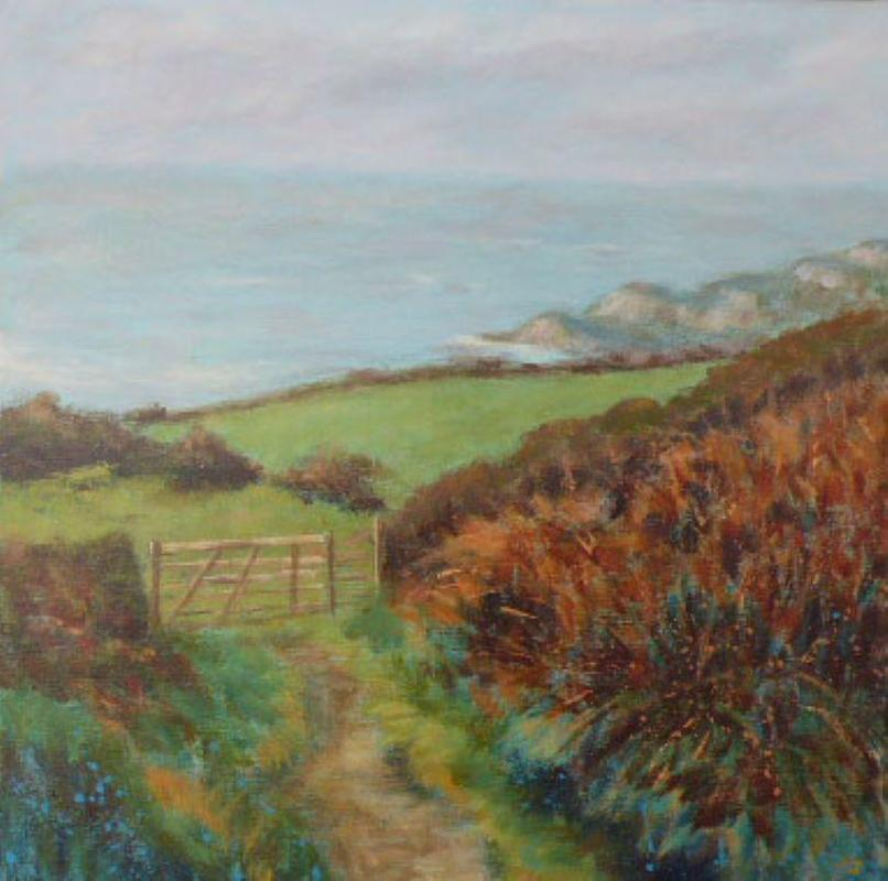 From a sketch on site  40 by 40cm