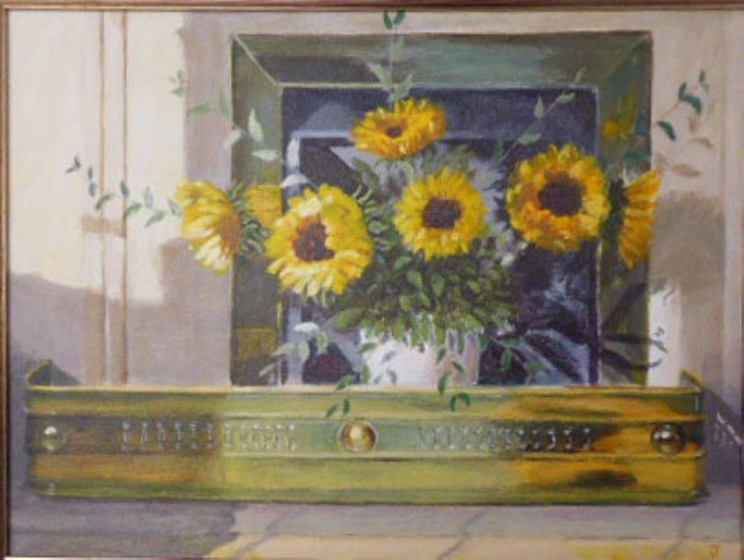 Sun light in our sitting room 44 by 34cm