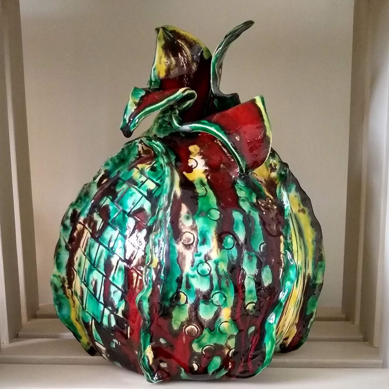 New - Emerging Bud.   H 28cm x 19m    £225 collection only