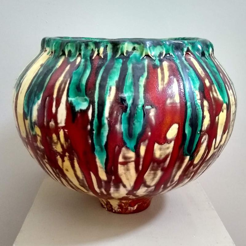 Sphere Coil Pot H28 xW28cm  £285 collection only
