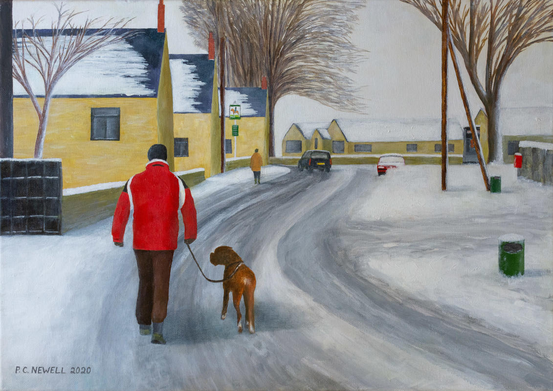 Dog-walk-in Freeland (Oils)