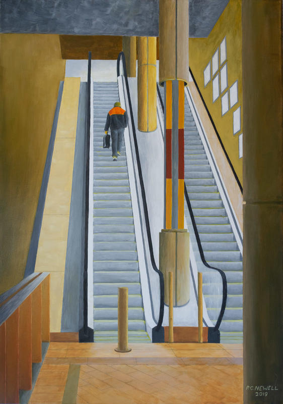 Westgate Shopping Centre (Acrylics/Oils)