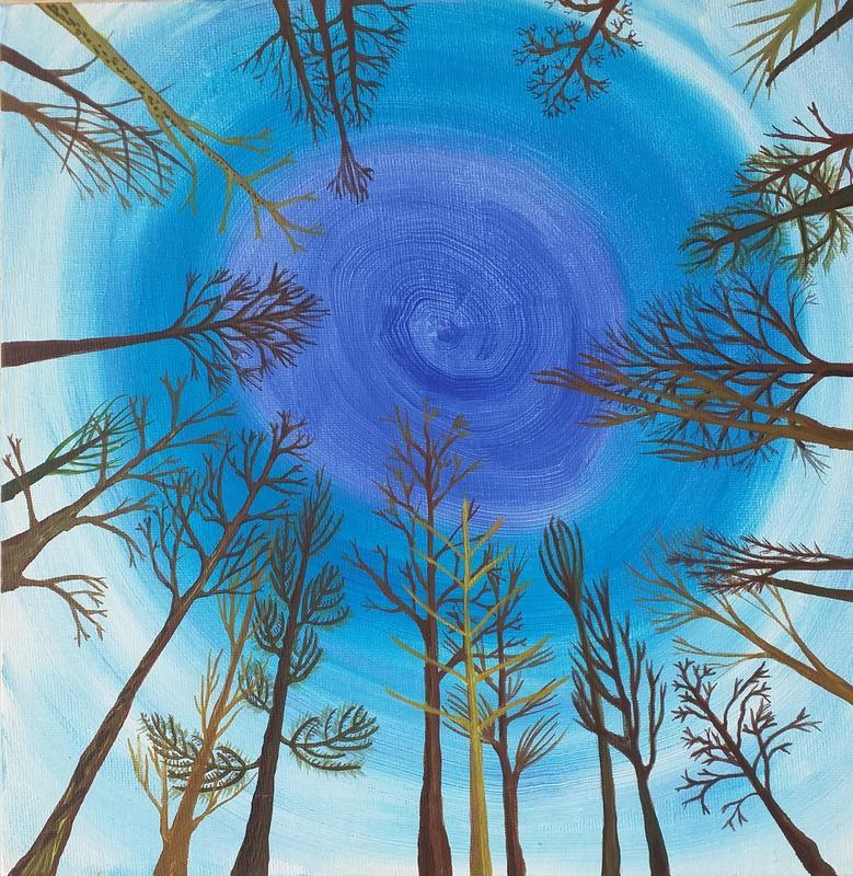 Blue Trees 3