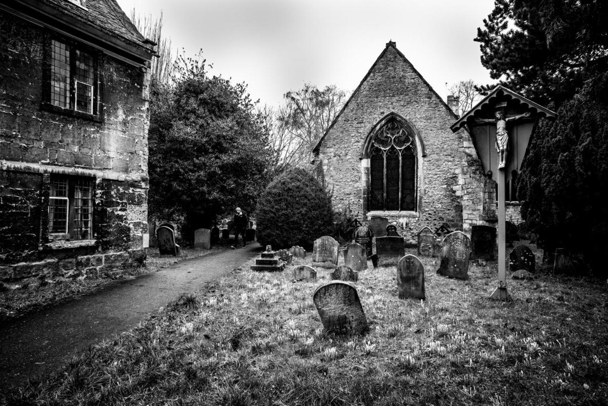 Landscapes of the Heart. Personal images of local places during a global pandemic. St Thomas the Martyr Church, Oxford.