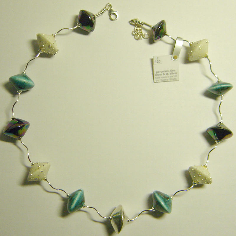 Precious Metal Silver Clay, Porcelain & Sterling Silver