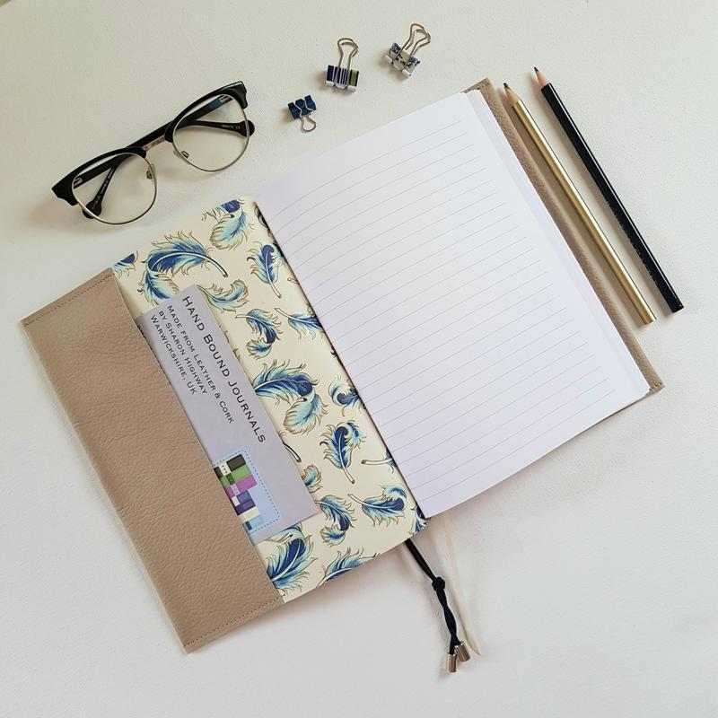 Pocket Journals made from Leather or Cork from £38