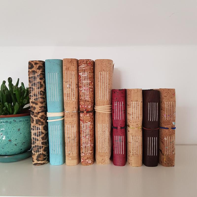 Cork Journals and Sketchbooks, Vegan & Eco from £25