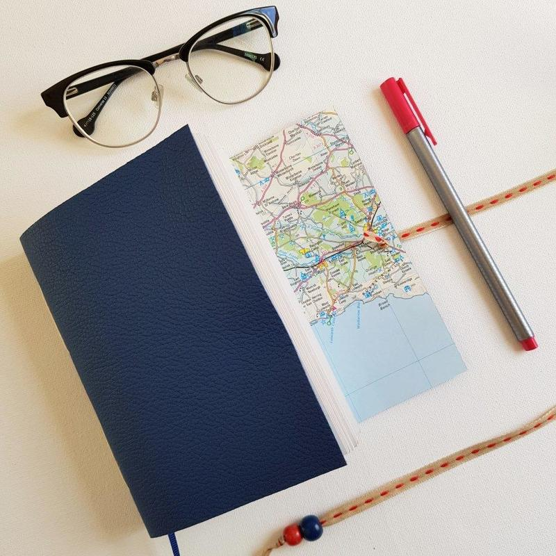 Map Journals are custom made from £27