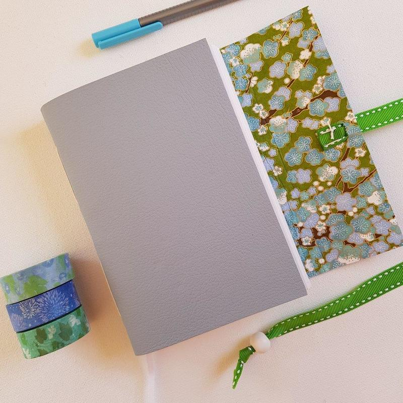 Japanese Chiyogami Blossom Journal, A6, £25