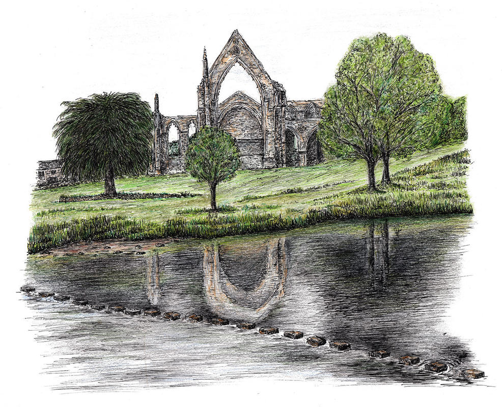 Bolton Abbey and Stepping Stones, Yorkshire