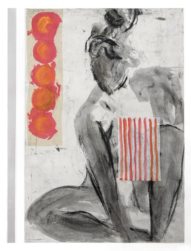 Strength and Beauty | 55 x 76cm | Ink and collage