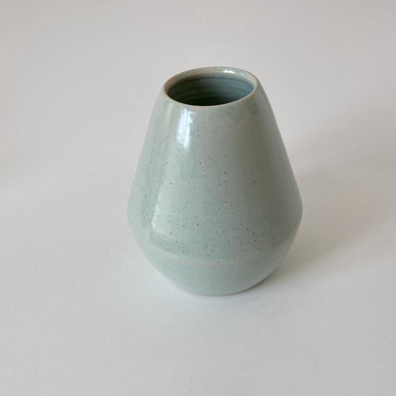vase in duck egg blue 20cm tall £45