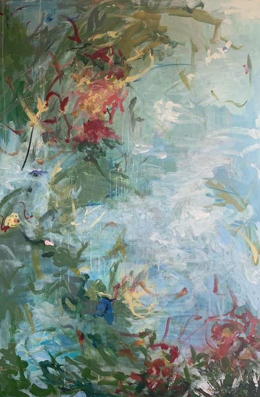 'the possibilities that await' 2020. 150 x 100 cm. SOLD