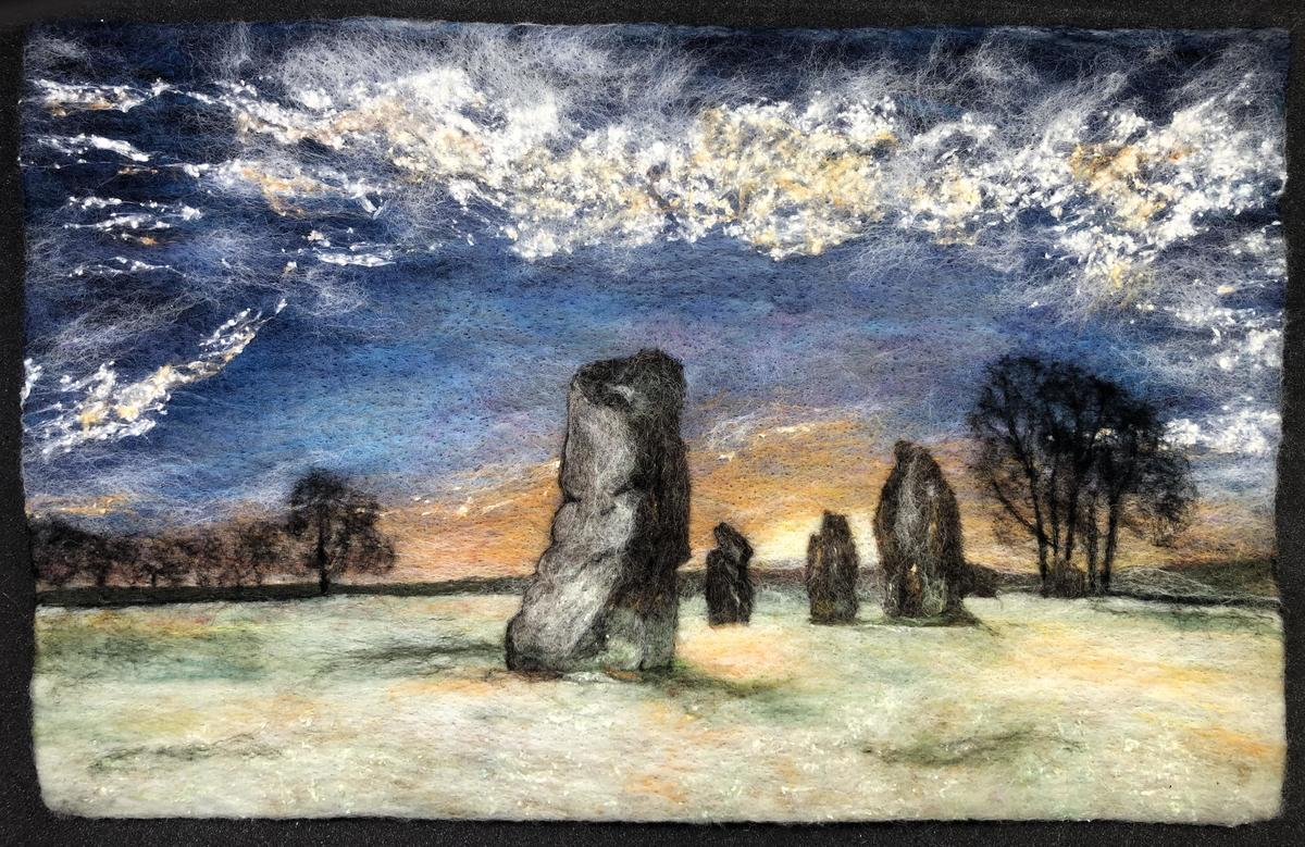 Winter at Avebury Large