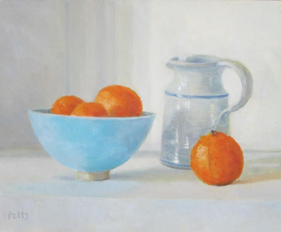 Pauline's Jug with Clementines