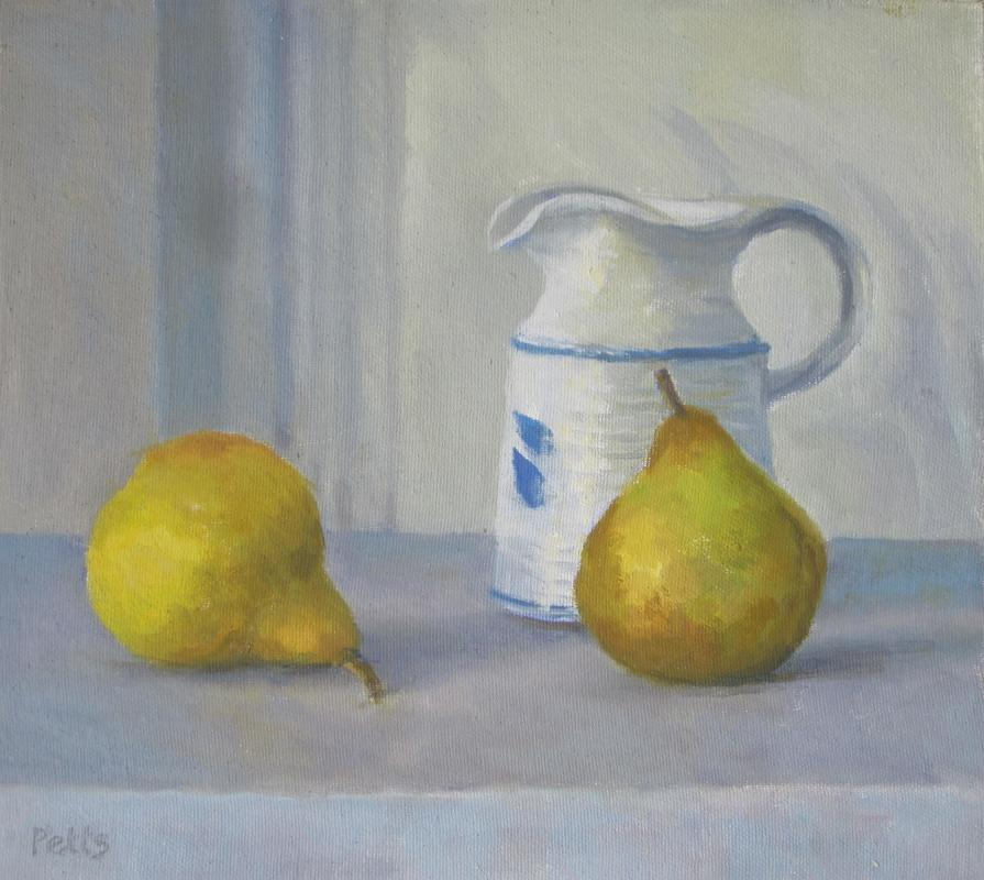 Two Pears and Pauline's jug