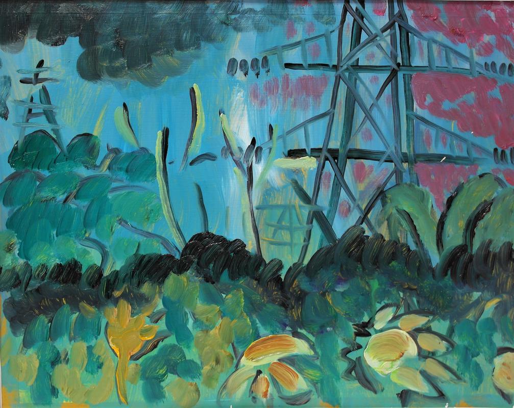 Sandford Pylons