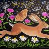 Hare and chamomile - painting £150