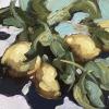 Still life painting in oil