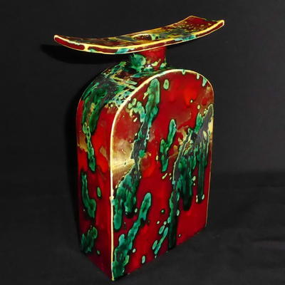 Oriental slab Bottle H39cm x W28cm £165.00