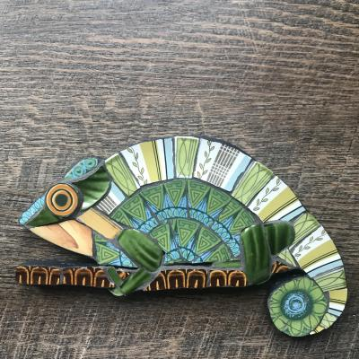 Chameleon 21 x 13cm. £40