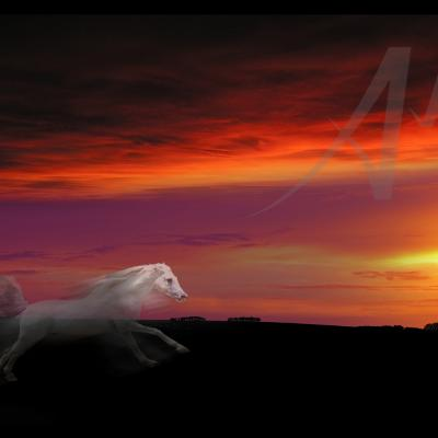 The White Horse Gallops to Capture The Sun - A Local Ridgeway Legend