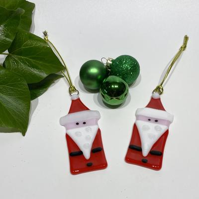 Father Christmas tree decorations