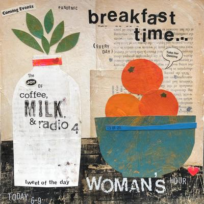 Breakfast time.Lockdown collage, Emma Davis