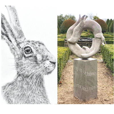 'Hare' by S Side / 'Otters' by D Williams