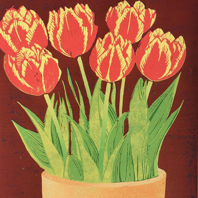 Today's Tulips 30 x 20 cms SOLD