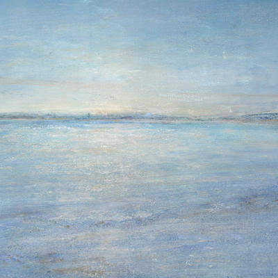 'Low tide at sunset' oil on canvas 24x30cm £375 framed
