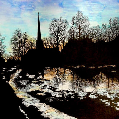 Flooding on St Mary's Fields