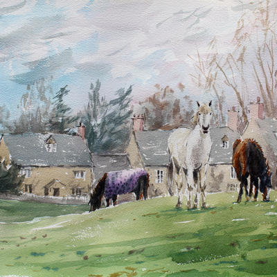 Coombe horses