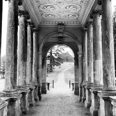 Stowe, Black and White photograph