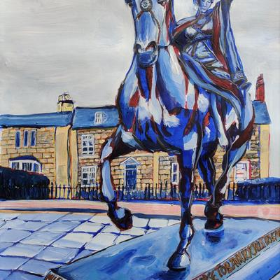'Fine Lady' by Emma Wilkinson - A tribute to the strength of community spirit in Banbury