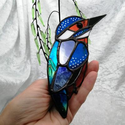 Kingfisher in Willow £65
