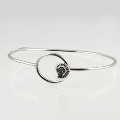 Ammonite bangle Sally Spencer