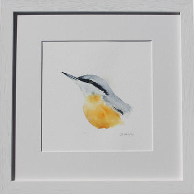 Nuthatch * Watercolour on paper
