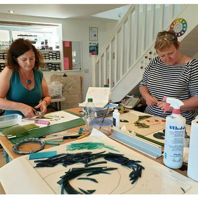 Come & Try It fused glass workshop