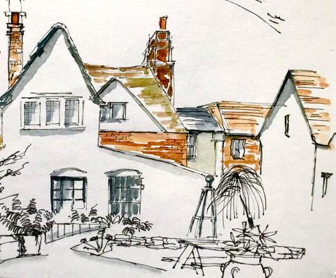 St Ethelwold's House by Marion Owen