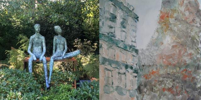 Andy Marlow & Laura jane Wylder, painting and sculpture.