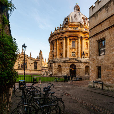 Howard Stanbury | Radcliffe Camera in Radcliffe Square from Brasenose Lane
