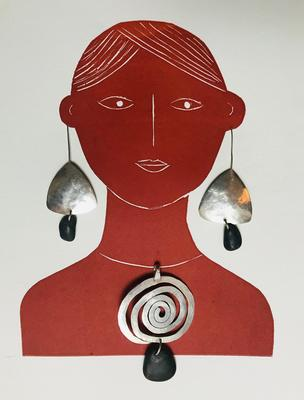 An exhibition of new work: Prints, Paintings and Silver Jewellery.