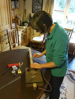 Making the Spares Box Guitar